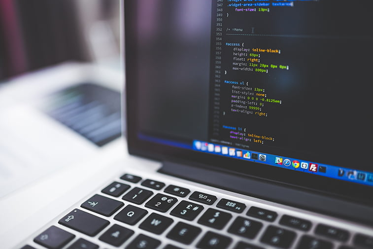 website code development