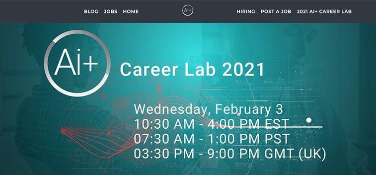 ai+ career lab 2021