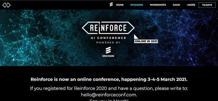 reinforce conference
