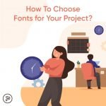 how to choose font for projects