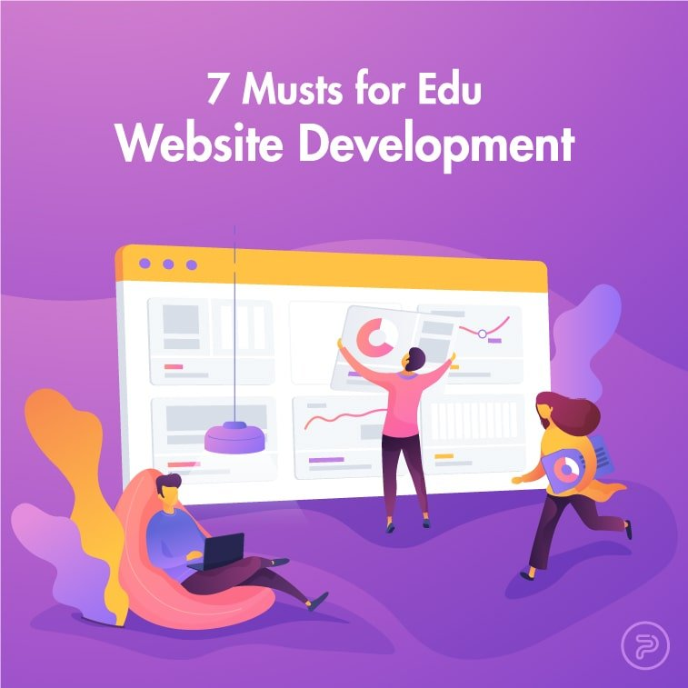 edu website development