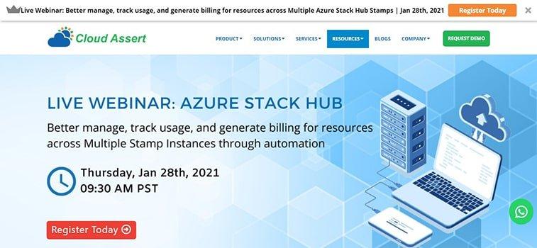 azure stack hub 2021