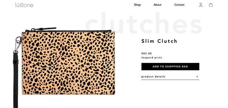 leopard print bag colors