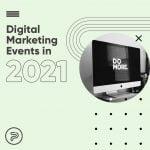 digital marketing events 2021