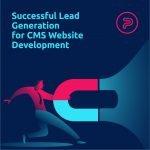 lead generation CMS development website