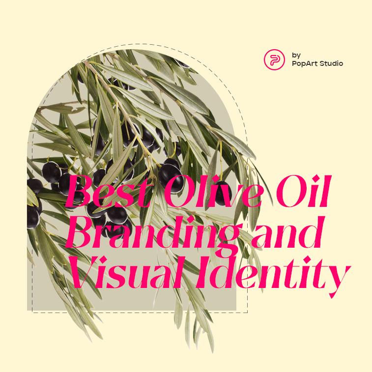 olive oil visual identity