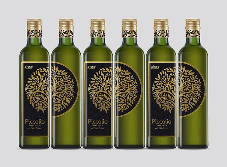 olive oil branding and visual idenity example
