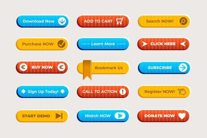 call to action button best example