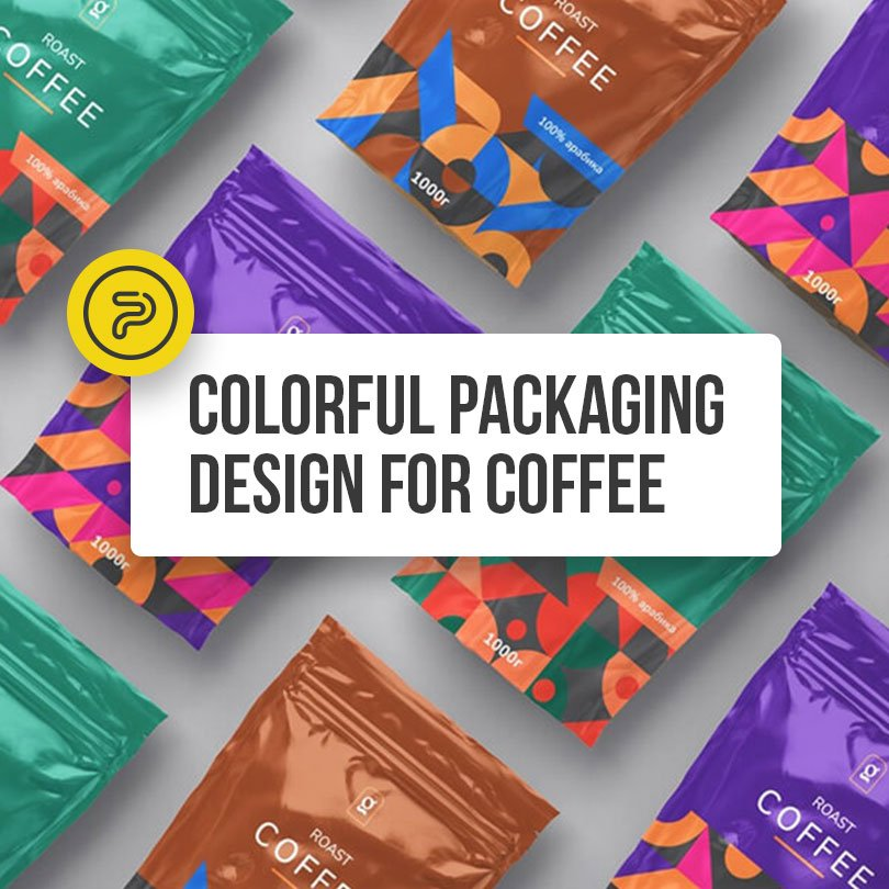56115Colorful & Inspirational Coffee Packaging Design