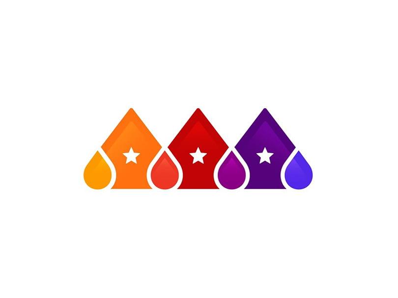 logo design trend analogous colors