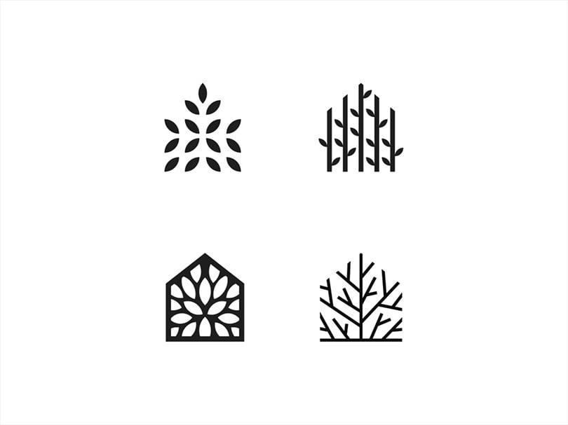 logo design nature elements
