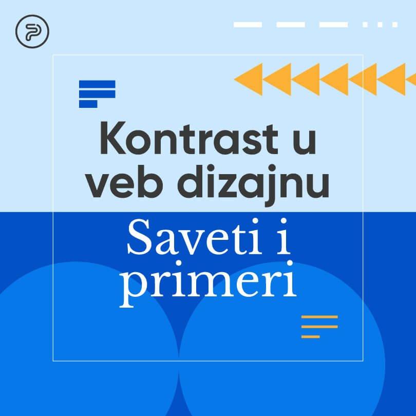 Kontrast u veb dizajnu: saveti i primeri